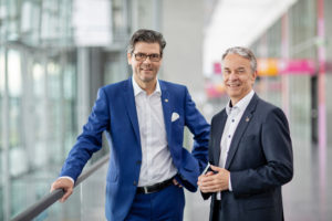 Stefan Lohnert, Roland Bleinroth (von links, Foto: Messe Stuttgart)