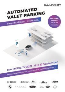 Automated Valet Parking auf der IAA Mobility (Grafik: VDA)
