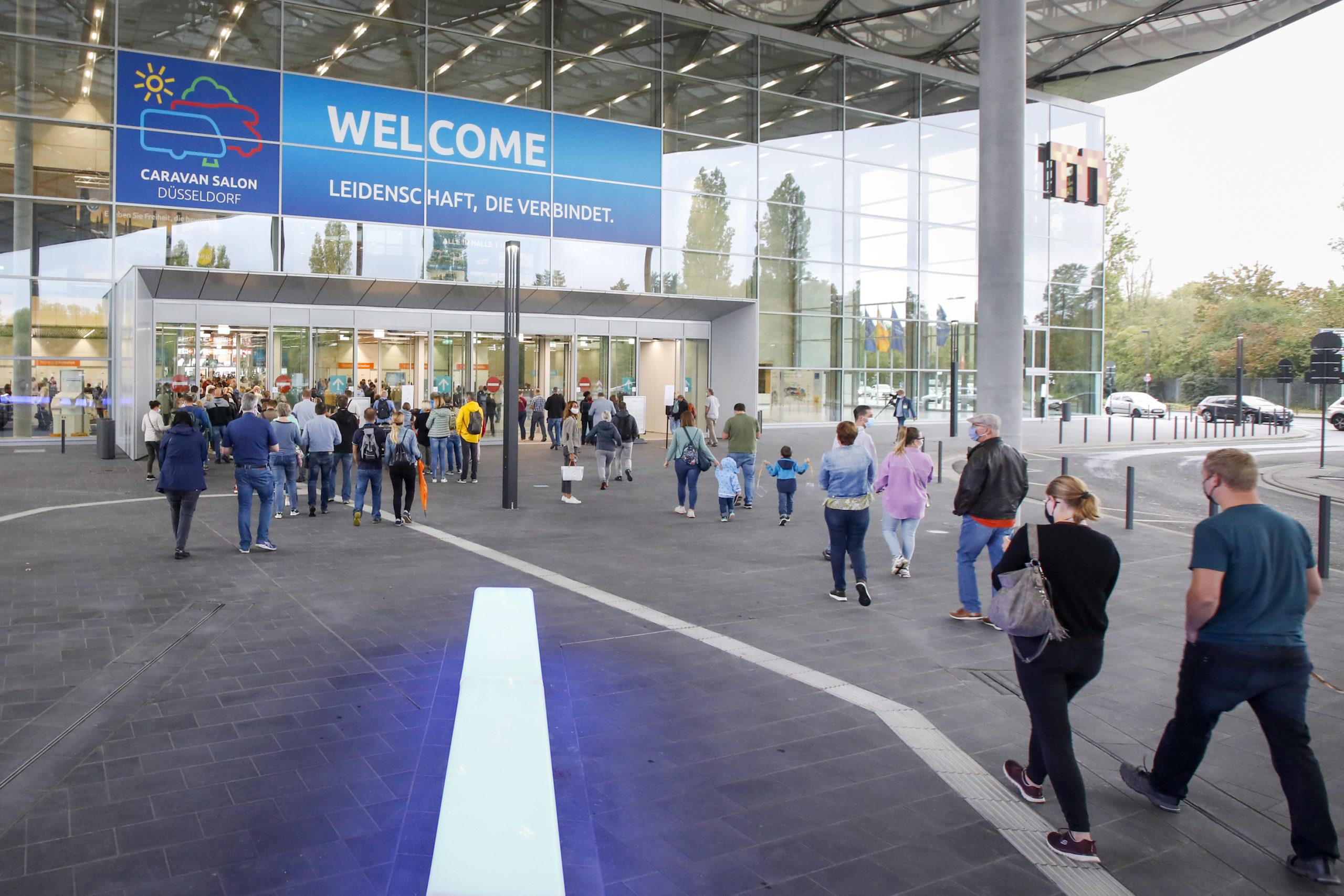 Caravan Salon 2020 (Foto: Messe Düsseldorf / Tillmann)