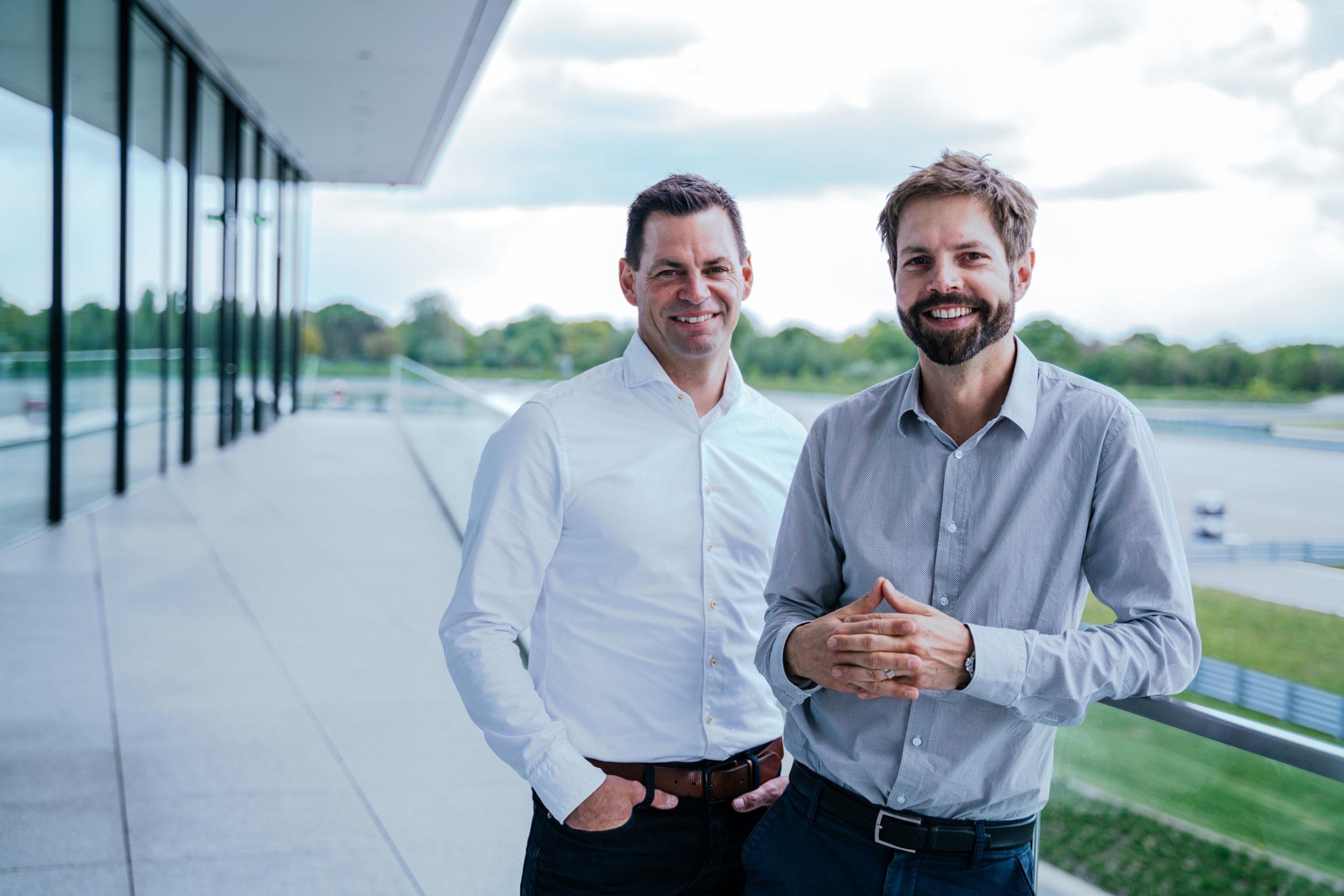 Cube-Geschäftsführung: Frank Fichtner, Dr. Michael Schilhaneck (von links, Foto: Cube brand communications)