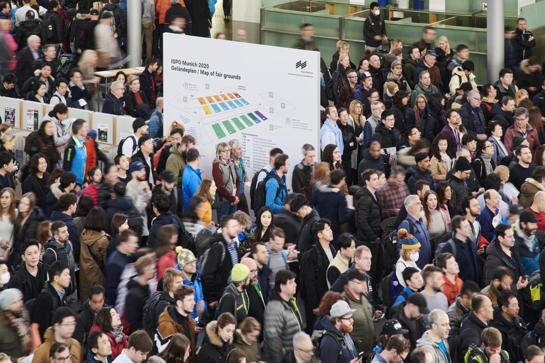 Impression von der ISPO Munich 2020 (Foto: ISPO.com)