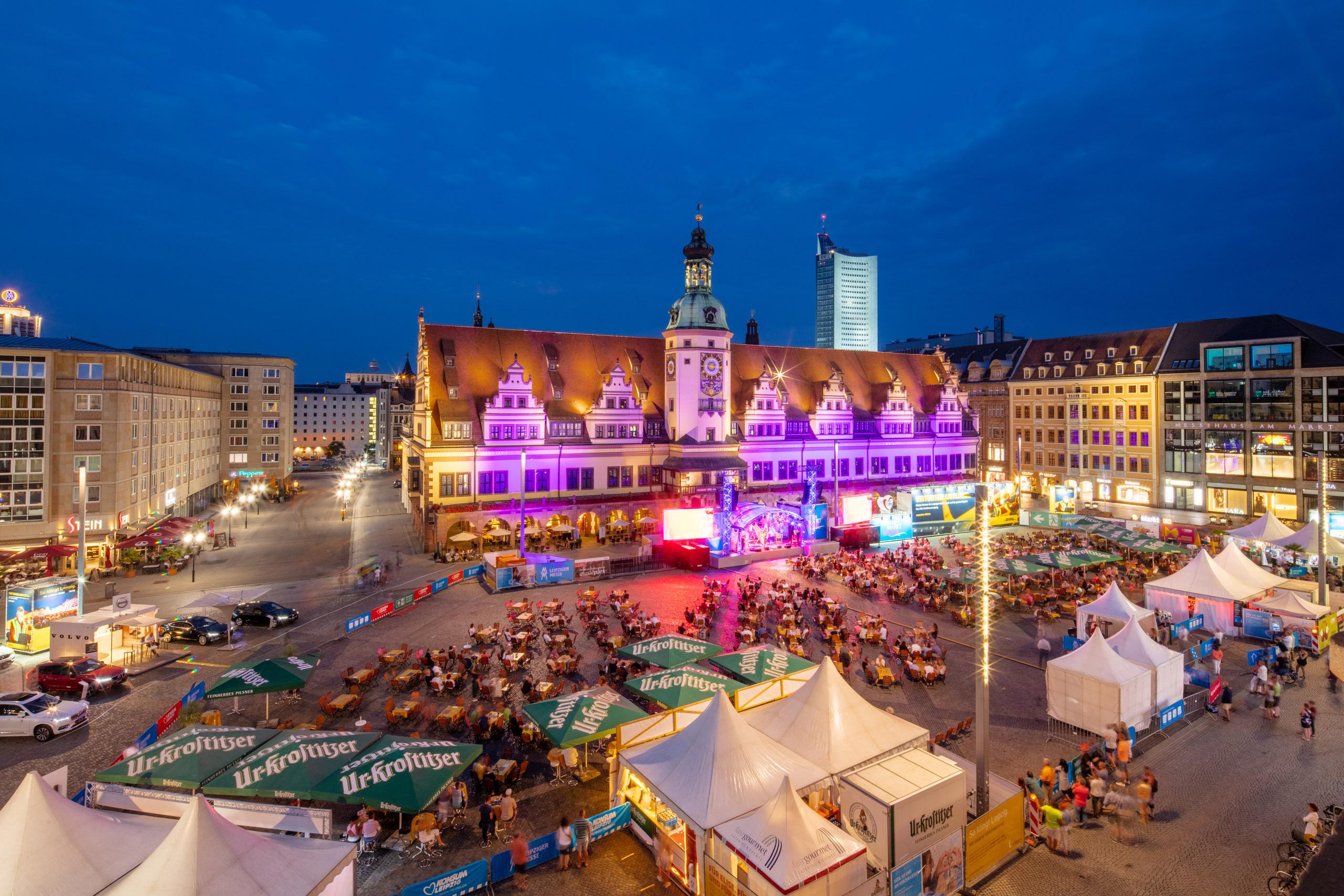 Leipziger Markt Musik (Foto: Leipziger Messe)