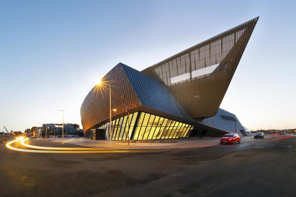 Kongresszentrum der Europäischen Kulturhauptstadt Mons
