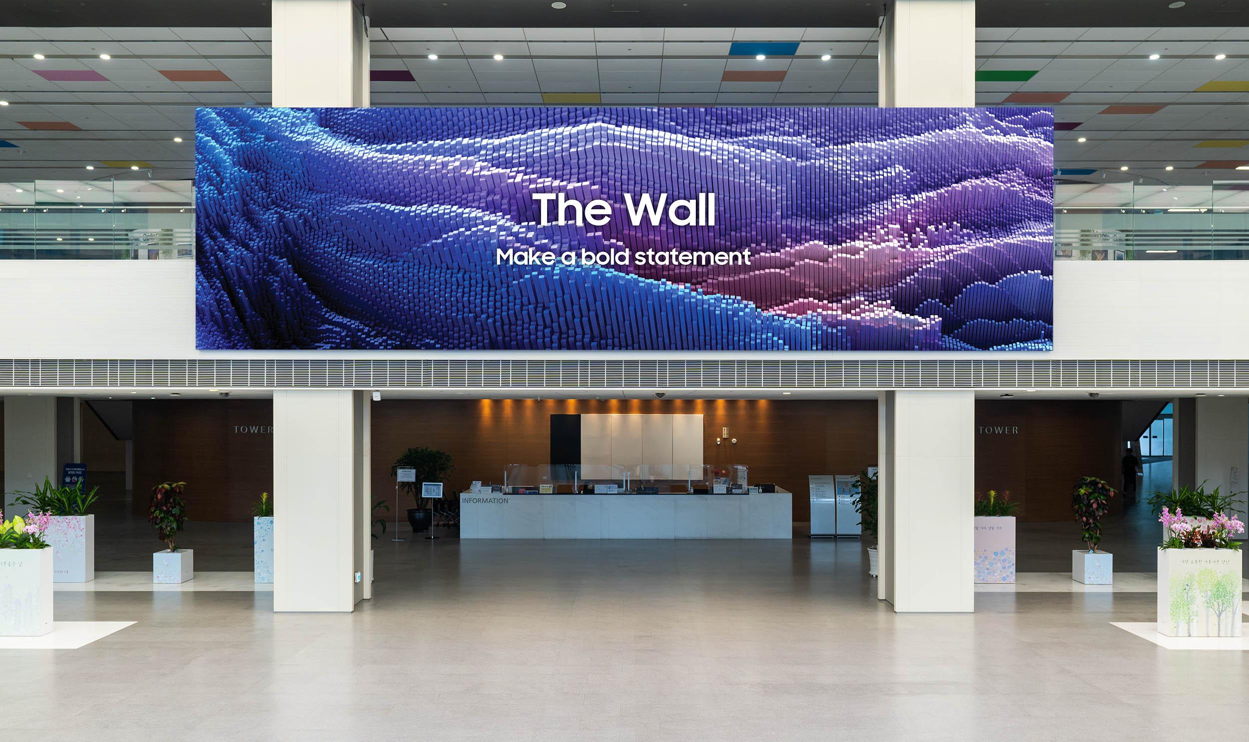 The Wall 2021 (Fotos: Samsung)