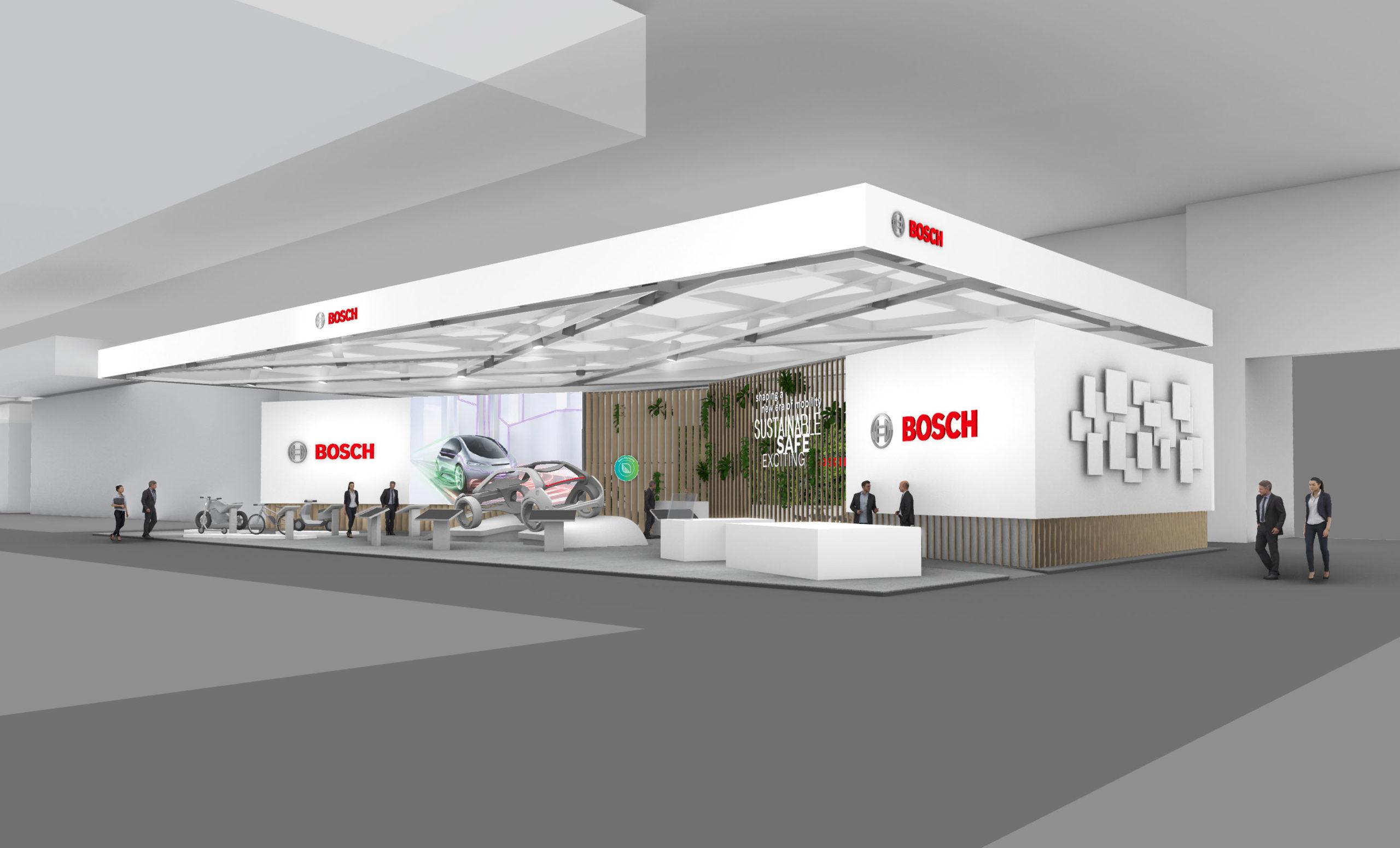 Bosch auf der IAA Mobility (Fotos: Bosch/Milla&Partner)