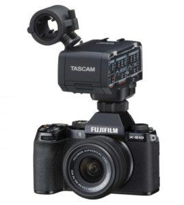 Tascam XLR-Adapter für die Fuji X-S10