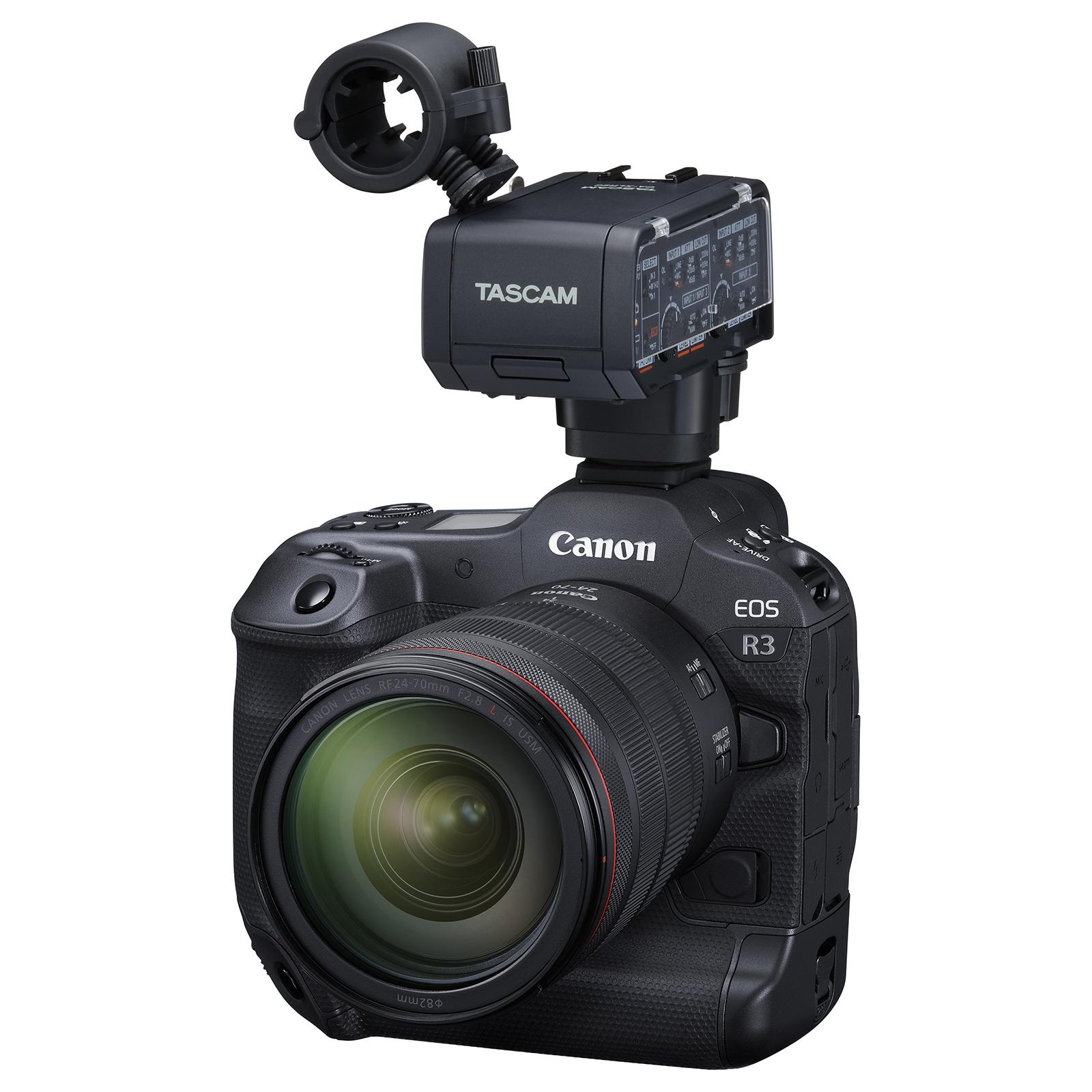 Tascam XLR-Adapter für Kamera