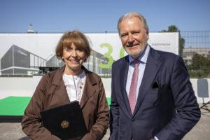 Henriette Reker und Gerald Böse