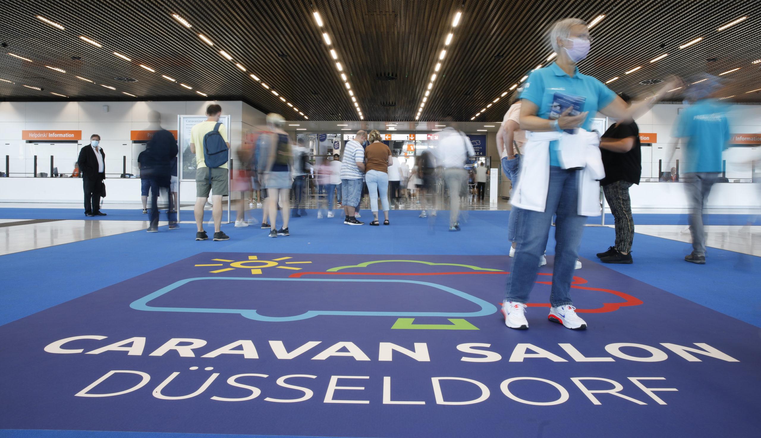 60. Caravan Salon (Fotos: Messe Düsseldorf/Constanze Tillmann)
