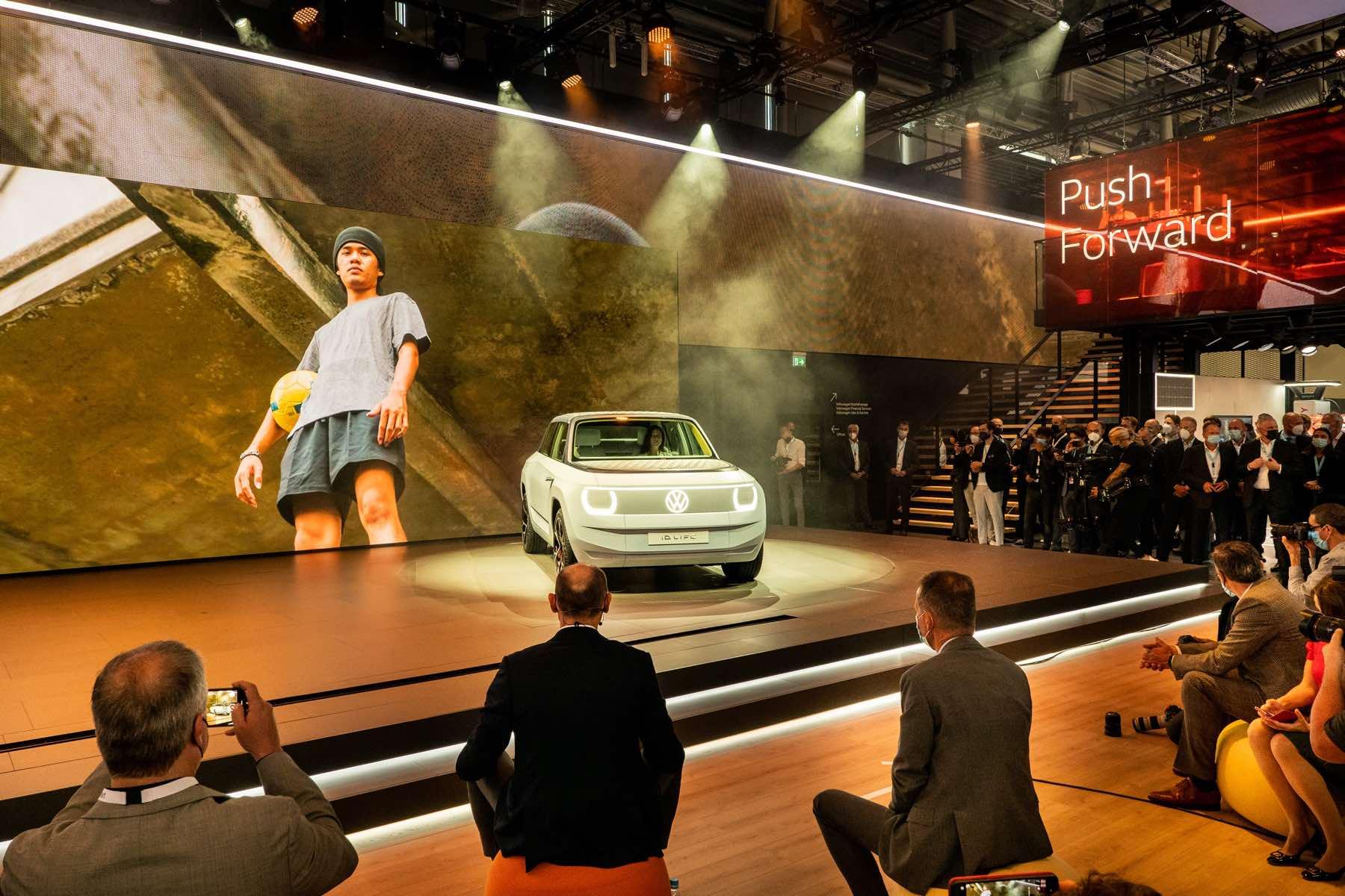 Volkswagen auf der IAA Mobility