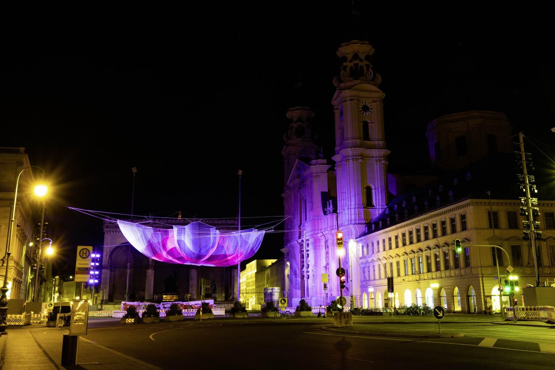 Mercedes-Benz schafft öffentliches Kunsterlebnis zur IAA Mobility