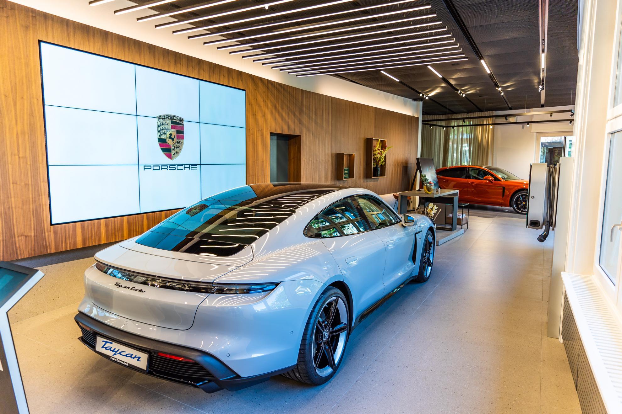 Porsche Studio Zürich (Fotos: AMAG Group AG )