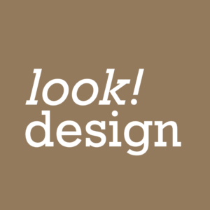 (Logo: look! design)