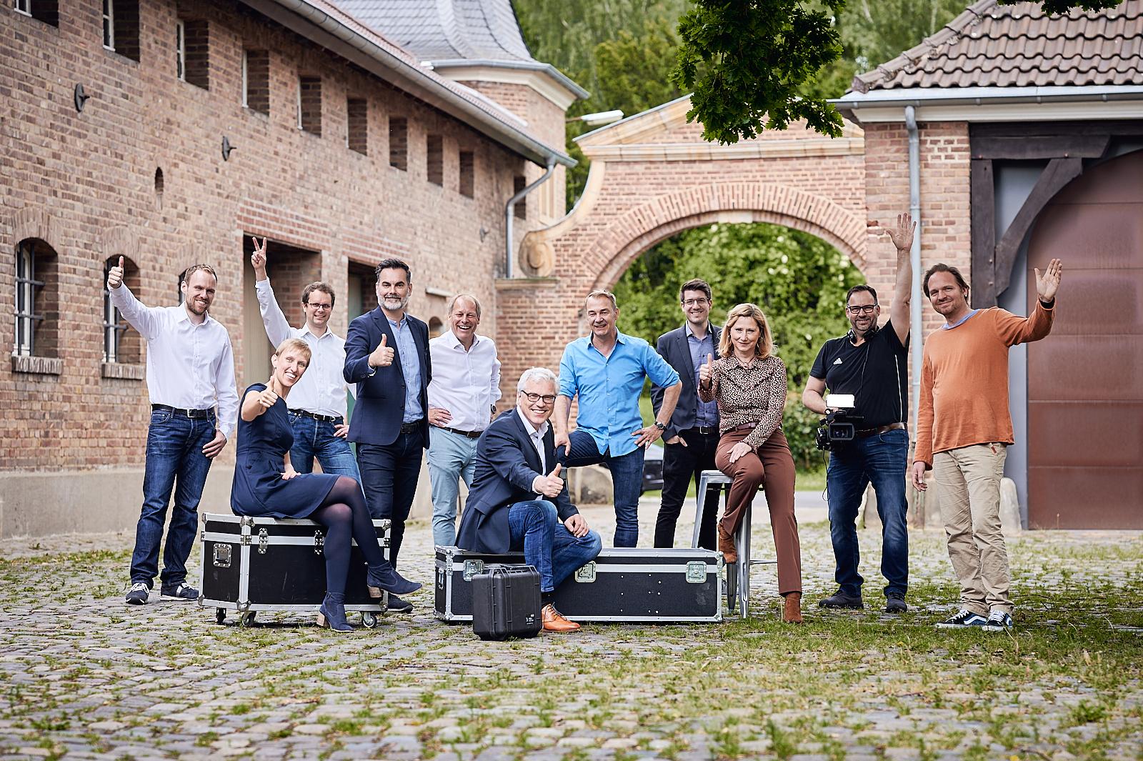 Welcome Team auf Gut Neu-Hemmerich