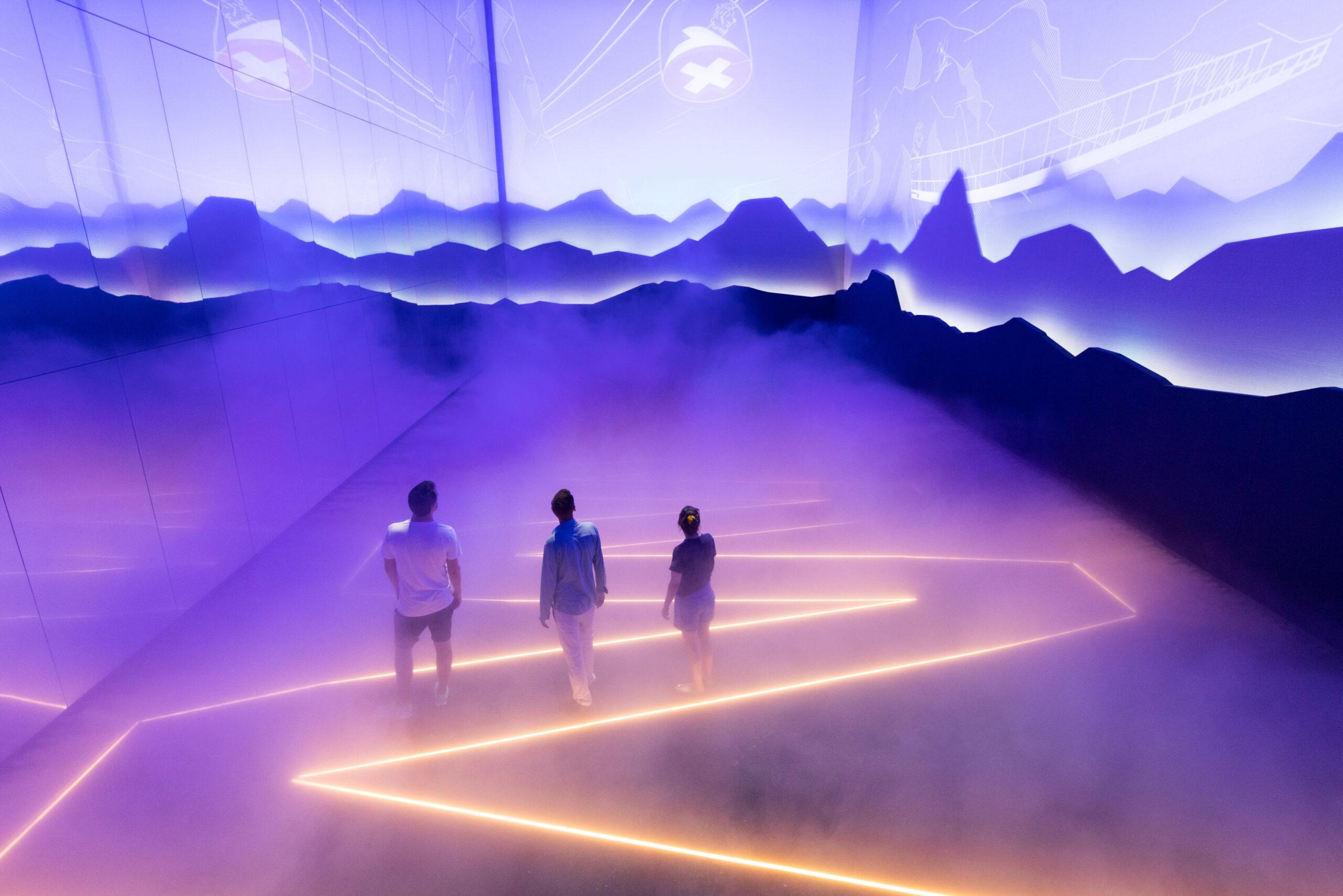 Szenografie im Schweizer Pavillon (Foto: Bellprat Partner)