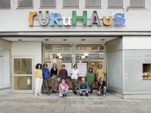 Mitglieder des Artistic Team vor dem ruruHaus (Foto: Nicolas Wefers)