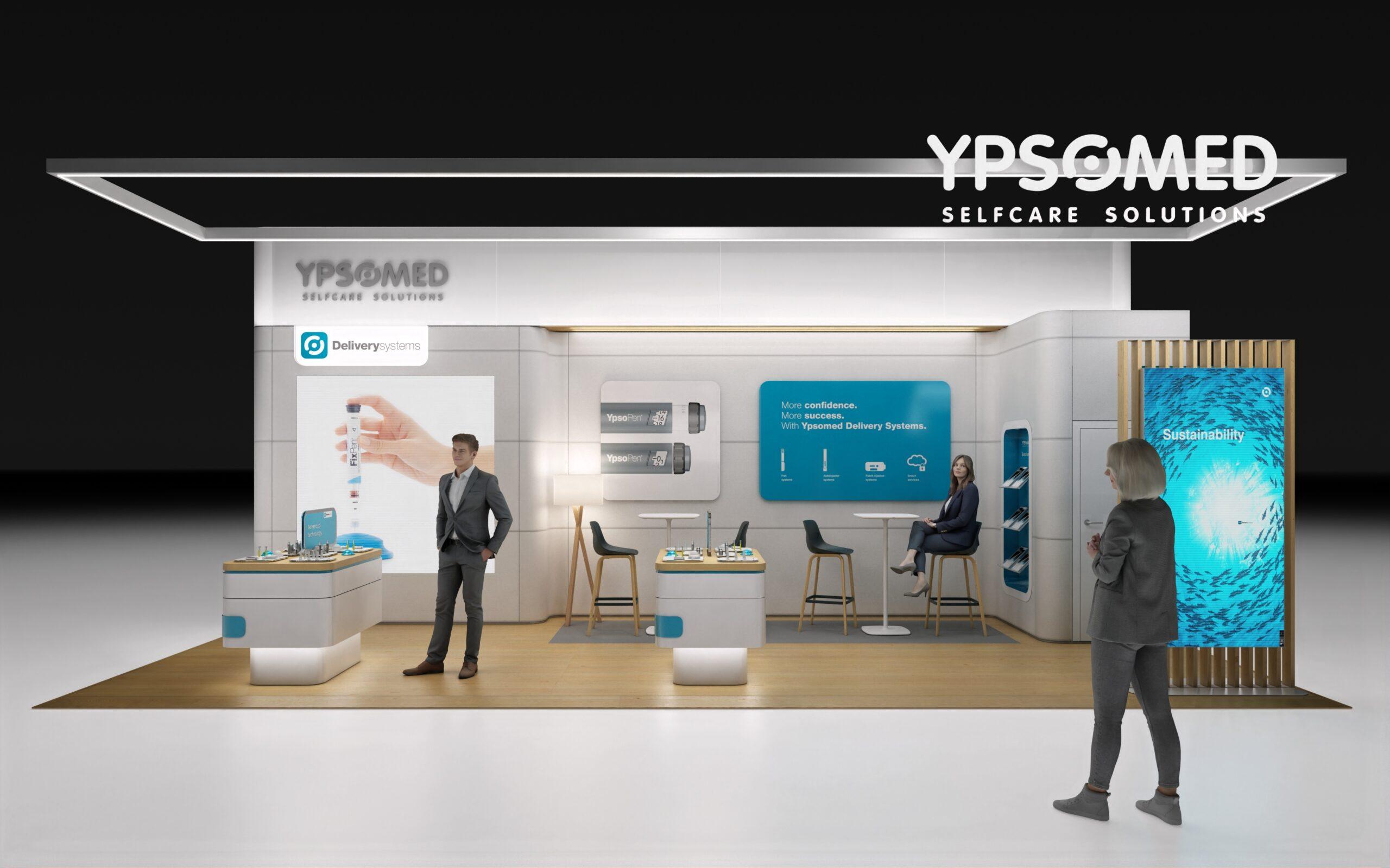 Neuer Auftritt von Ypsomed (Foto: Messerli)